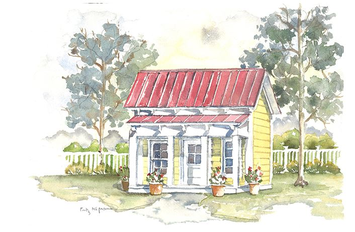 Southern Living Doghouse Plan