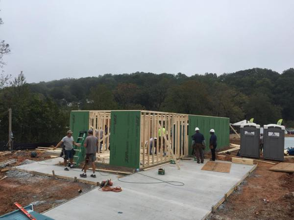 2017 Habitat for Humanity home in Birmingham