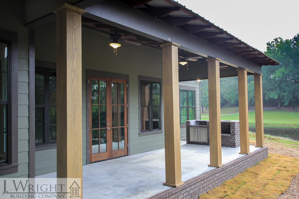Rustic Lake Home Design