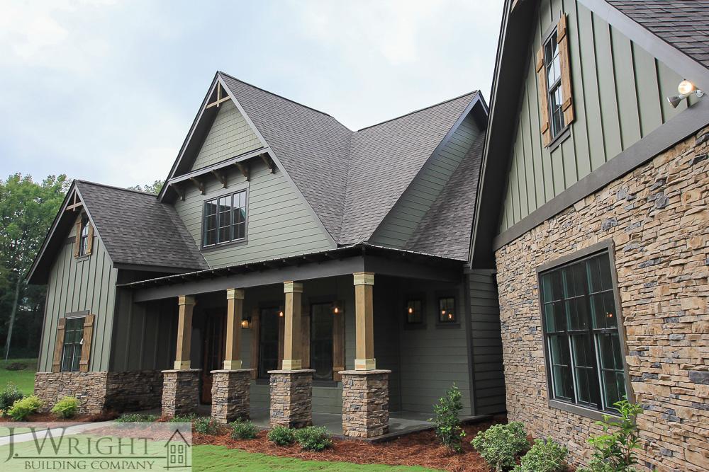 custom home on Indian Lake in Pelham