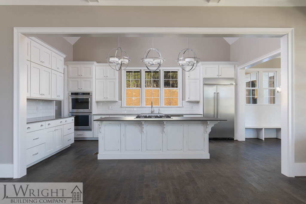 kitchen in a new custom home in Birmingham