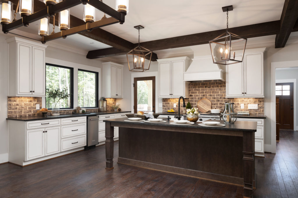 custom kitchen in a new home in Hoover