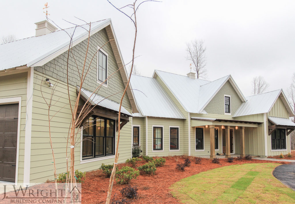 custom modern farmhouse in Alabama