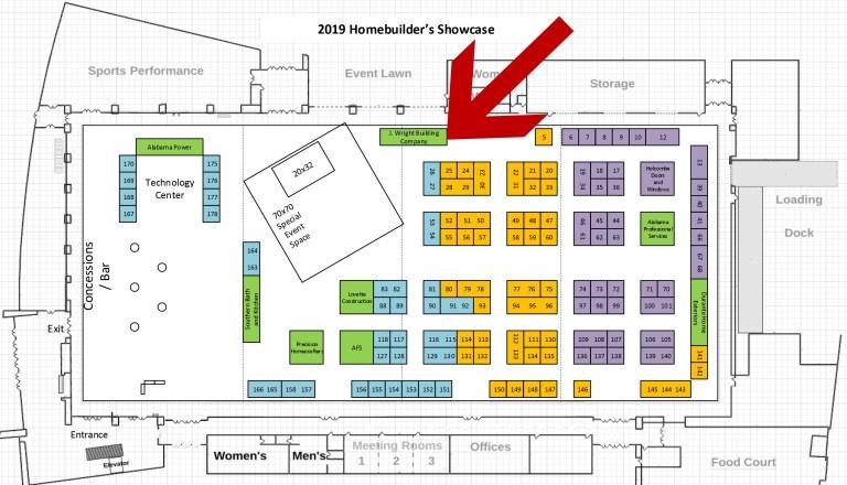 Showcase Floor Plan
