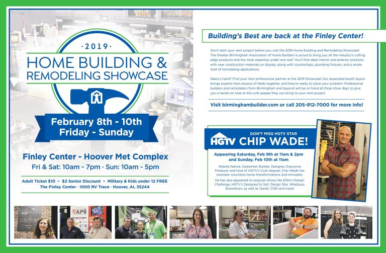 2019 Home Building and Remodeling Showcase