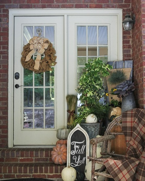 Southern Living plants for fall decor
