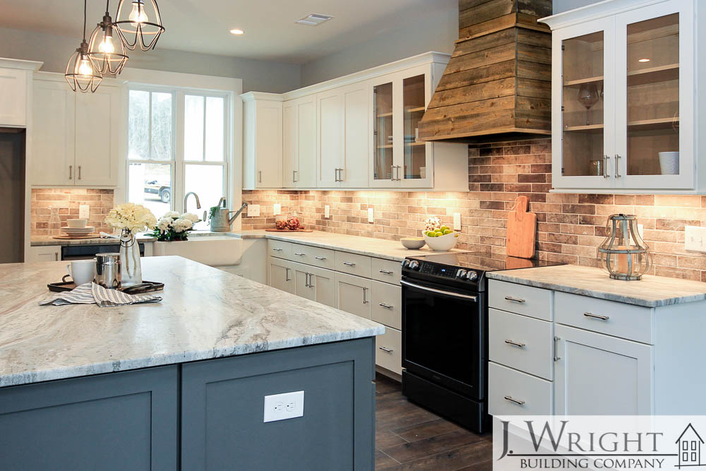Custom-Built Farmhouse Kitchen in Mt. Olive