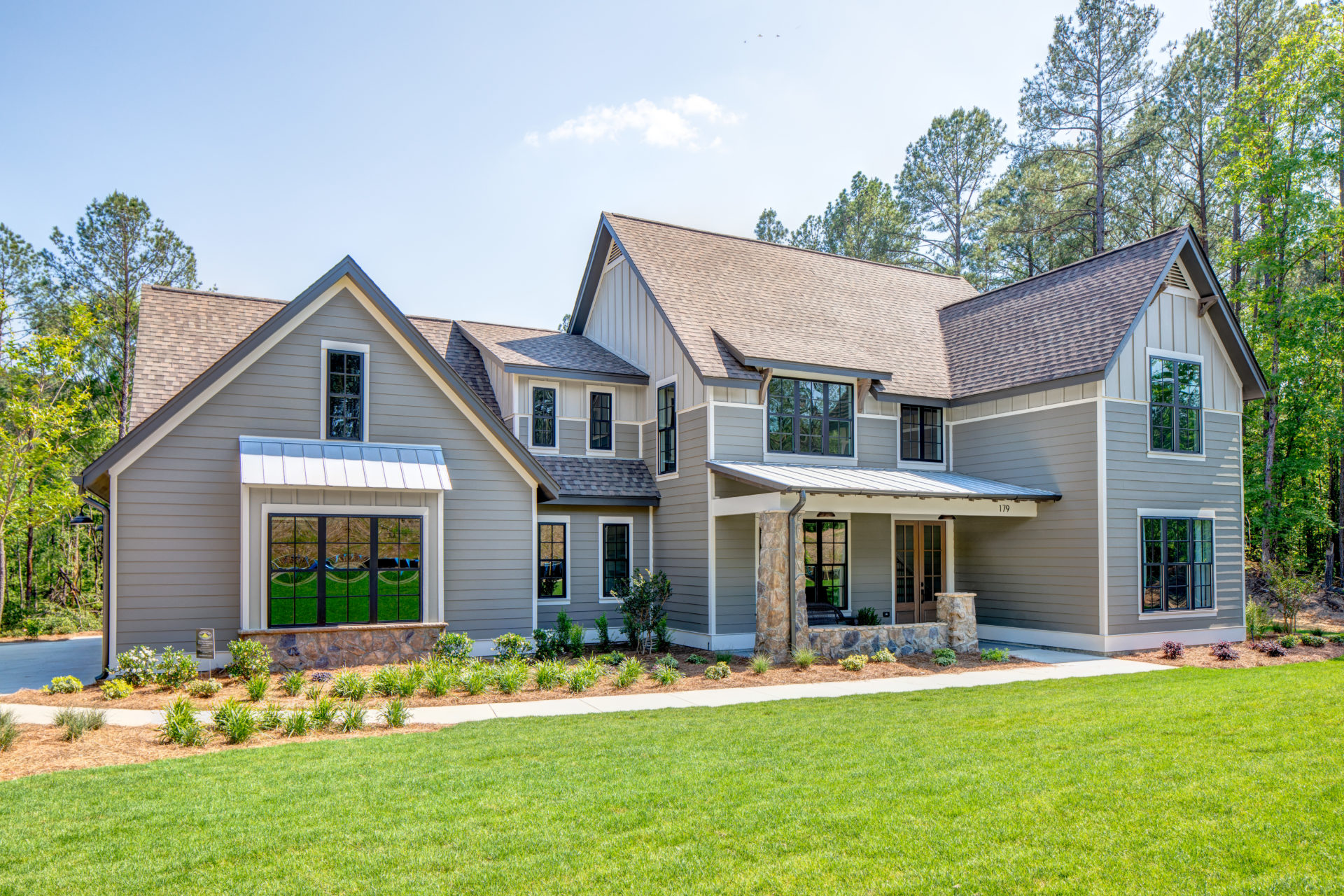 custom alabama home exterior