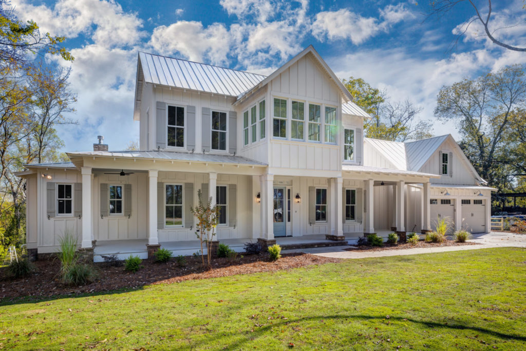 Custom Birmingham Farmhouse Exterior