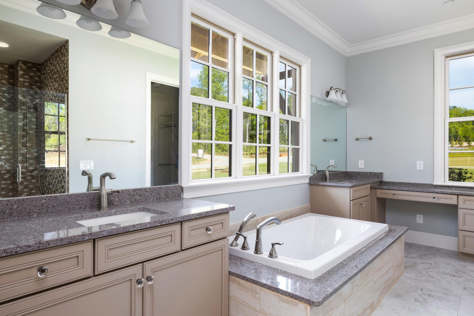 Custom Home in Alabama Master Bathroom