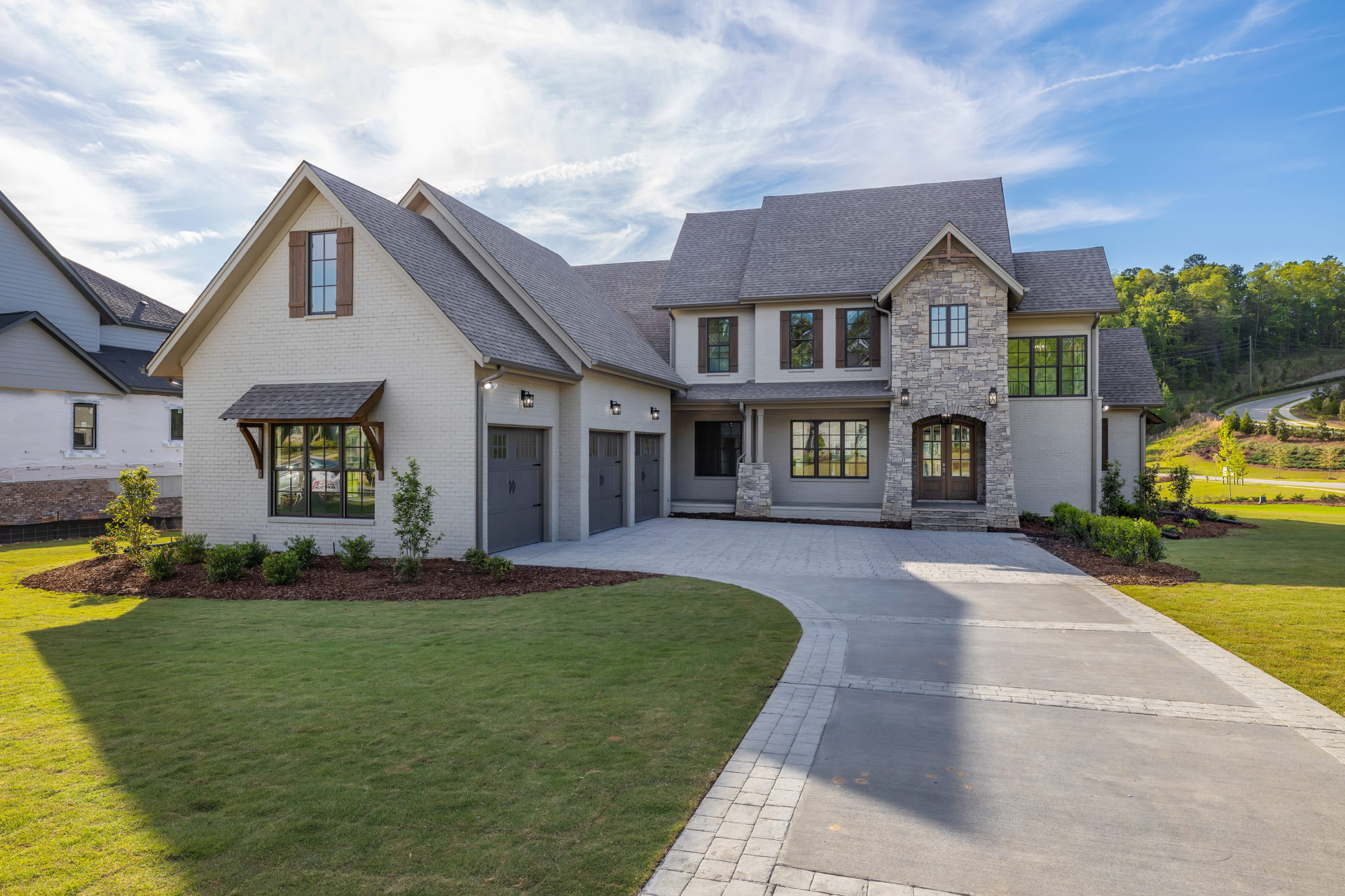 Custom Home in Helena