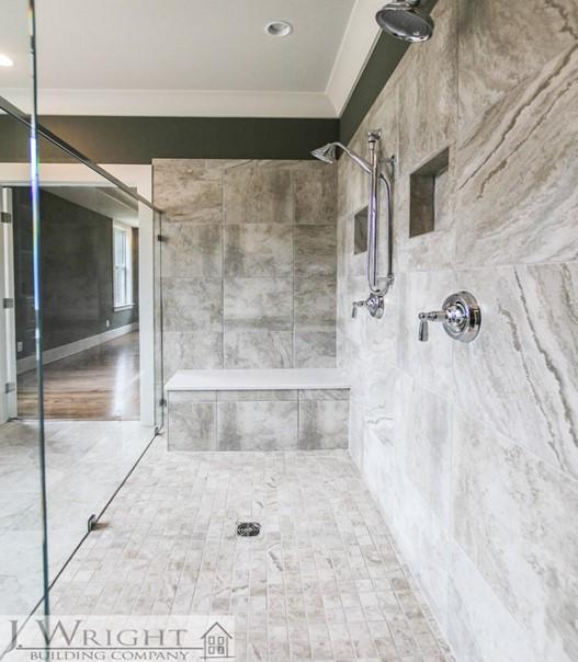spa tile shower