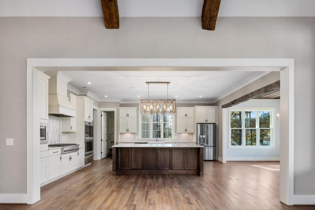 custom kitchen entryway
