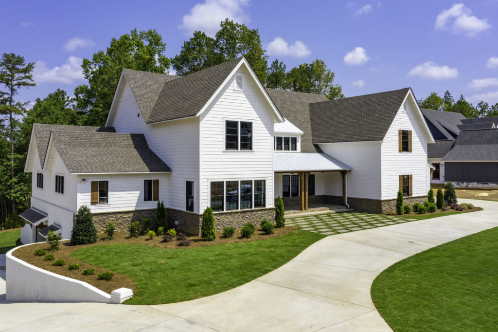 custom home exterior paint